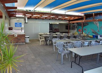 Barbeque and Dining area