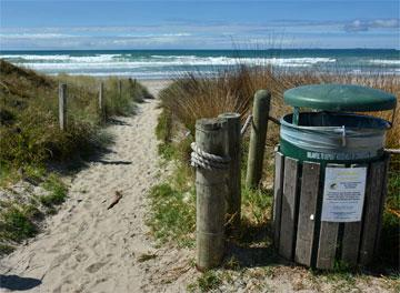Access to Papamoa Beach
