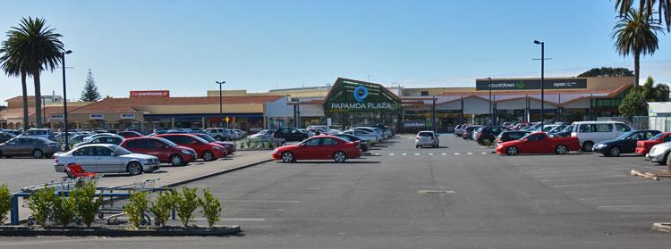 Papamoa Plaza parking