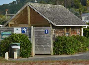 Public toilets and dump station