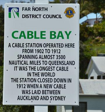 Cable Station sign