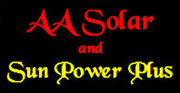 Find out more about what AA Solar can do for you.